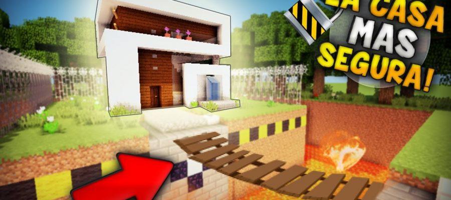 Casas modernas de minecraft for Casa moderna para minecraft
