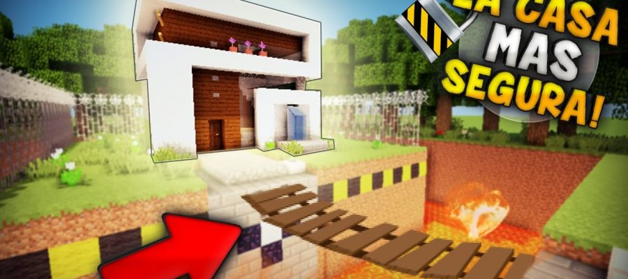 Casas modernas de minecraft for Casa moderna en minecraft