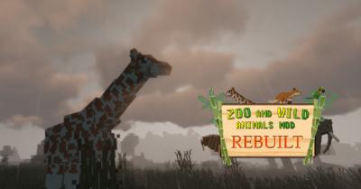 Zoo & Wild Animals Rebuilt Mod 1 12 2 Animales para tu zoologico