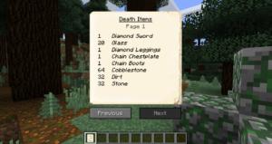 GraveStone Mod 1.14.4